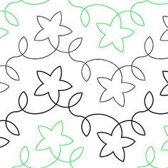 """Starlight - Paper - 8.5"""" - Quilts Complete - Continuous Line Quilting Patterns"""