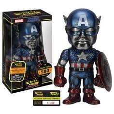 Captain America Titanium Hikari Vinyl Figure
