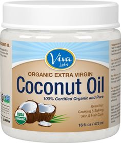 A tub of organic coconut oil that'll last you for ages and has a multitude of uses that go beyond your hair. | 21 Of The Best Hair Products You Can Get On Amazon