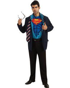 Clark Kent Superman Mens Costume | MOVIES Great for a superhero party!  sc 1 st  Pinterest & 64 best Superhero party costume and ideas images on Pinterest ...