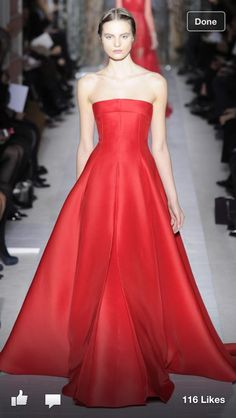 Image result for VALENTINO RED GOWN