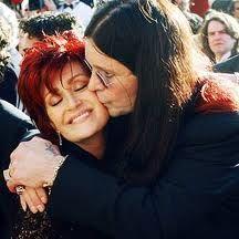 Ozzy Osbourne and Sharon