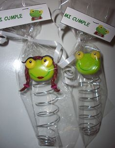 SAPO PEPE Y SAPA PEPA by DULCES SOUVENIRS by Carolina Espinoza, via Flickr