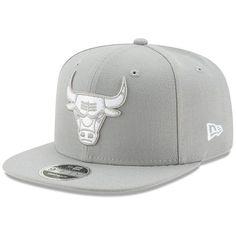 e0b451f62cc Chicago Bulls New Era League Basic Original Fit 9FIFTY Adjustable Snapback  Hat - Gray - $27.99