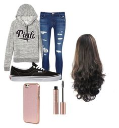 Wednesday by agilm5 on Polyvore featuring polyvore, fashion, style, Victoria's Secret, J Brand, Vans, Kenzo and clothing