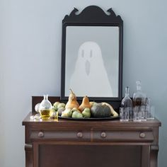 ghost in mirror