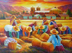 Resultado de imagen de pinturas peruanas al oleo