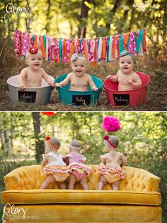 @jess and Sarah - we should do this with our babes - of course mine will be a little boy but we could put him in a cute outfit!