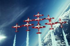 FOR MCBIT:  The Canadian Forces Flight Demonstration Squadron - the Snowbirds - by the Canadian National Defence