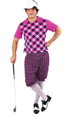 Adult Mens Pub Golf Costume fd2b9c169d0f