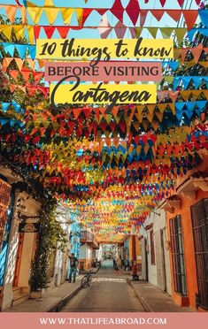 10 things to know before visiting Cartagena de Indias, Colombia - That Life Abroad Visiting CartageVisiting Cartagena de Indias, can be overwhelming for first-timers. Here're 10 things you need to know before you go. Trip To Colombia, Visit Colombia, Colombia Travel, South America Destinations, South America Travel, Ushuaia, Columbia Cartagena, Quito, Panama City Panama