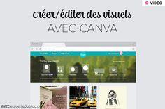 Un outil d'édition photo en ligne: #Canva #gratuit #blogueuse #graphic…