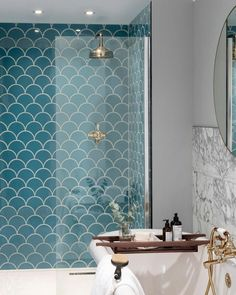 Blue tiles at Topps Tiles. Suitable for walls & floors in a range of materials. Express and 24 hour home delivery available. Bathroom Floor Tiles, Downstairs Bathroom, Bathroom Renos, Bathroom Ideas, Shower Tiles, Serene Bathroom, Bathroom Remodeling, Bathroom Colours, Tiled Bathrooms