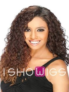 Stylish Lace Front 20Inch Curly Synthetic Wig http://www.ishowigs.com/stylish-lace-front-20inch-curly-synthetic-wig-aa40349.html