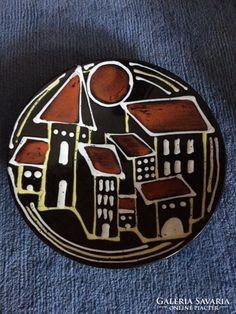 Iparművészeti, jelzett kerámia falitál-Reguly ceramic bowl Ceramic Bowls, Ceramics, Ceramica, Pottery, Ceramic Art, Porcelain, Ceramic Pottery