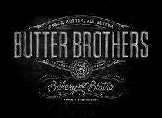 Butter Brothers Boilerplate by Pretty/Ugly Design, via Flickr