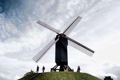 Molino de viento  #brugge #bruges #belgium #belgica #brujas #europe #europa