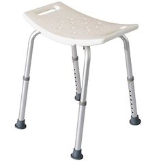 HomCom Rectangle Medical Bath Bench Shower Stool <3 Find similar products by clicking the VISIT button