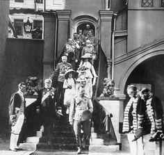 "The Imperial Royal family at the Tercentenary Celebrations of the Romanov Dynasty in 1913. ""AL"""