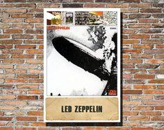 Led Zeppelin 13x19 Album Artwork Print by PrintableSongParts