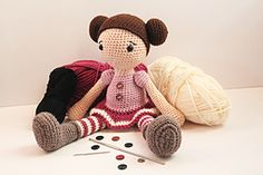 Ravelry: Amigurumi Doll pattern by Anat Tzach