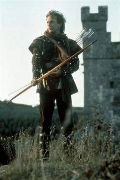 Kevin Costner as Robin Hood, 1991.