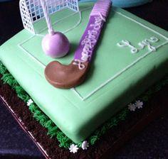 21 Elegant Image of Field Hockey Birthday Cakes . Hockey Birthday Cake, Birthday Cakes, 10th Birthday, Birthday Ideas, Fondant Cakes, Cupcake Cakes, Cupcakes, Caravan Cake, Hockey Cakes