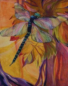 Vineyard Fantasy giclee on canvas by Karen Dukes
