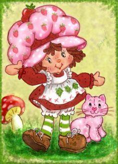 Original Strawberry Shortcake Cartoons | Strawberry-Shortcake-