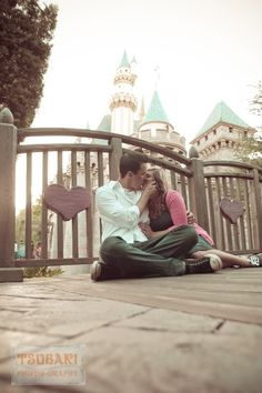 Like the low angle. I want a picture of me and my future husband doing this at Disneyland! So cute.
