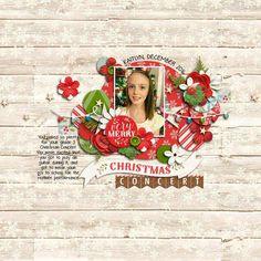 Christmas Concert - Scrapbook.com