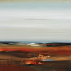Umber Views 100x100cm canvas