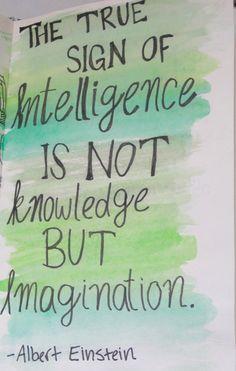 Albert Einstein Quotes. Inspirational Quotes. Intelligence Quotes. Imagination Quotes.