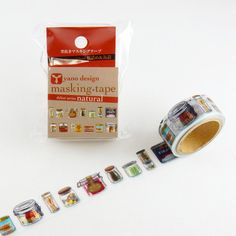 Round Top Masking Tape Bottles & Cans. • This listing is for 1 masking tape. • Size approx. 2cm×500cm • Country of manufacture: Japan • Material / component: Japan Paper • Last few images shown the ot