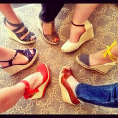 @whowhatwear HQ does espadrilles in honor of today's story on whowhatwear.com! #fashion #shoes
