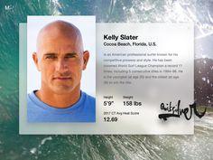 Kelly Slater Surfer - Fluent Design System