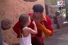 This Little Girl Telling Off A Sexist Gaston At Disney World Is So Badass... This is sooooooo adorable!