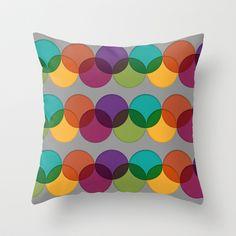 THE PATTERN Throw Pillow by Tassara - $20.00