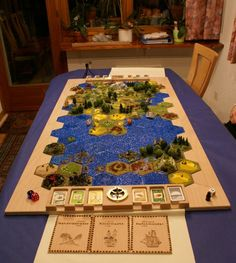 the coolest settlers of catan board i have ever seen