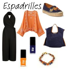"""contest: espadrilles"" by dtlpinn on Polyvore featuring Escalier, Ralph Lauren, Xaa and Jin Soon"