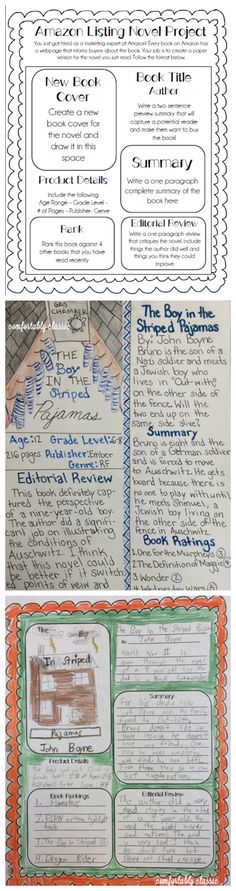 Book Review Template Classroom Literacy Pinterest Book - book review template