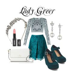 Lady Greer by tinyqueen19 on Polyvore featuring Hervé Léger, Pinko, Kate Spade, Givenchy and BCBGMAXAZRIA #lady #greer #reign #style