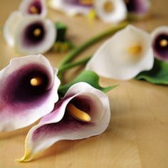 How to make gumpaste (sugar) calla lily flowers