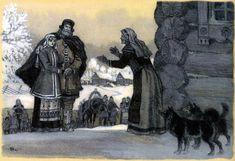 nicolai kochergin_kalevala_09_the beauty of pohjola chooses a husband_08.jpg (1600×1098)