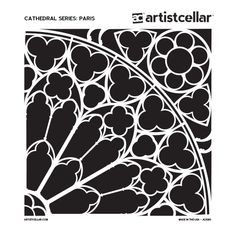 Inspired by the rose windows of legendary French Gothic cathedrals, this Artistcellar series can be patterned to complete 360-degrees, or layered to inspire a variety textures!