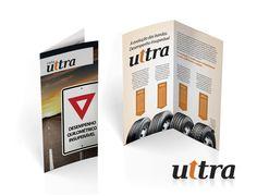 Linha Ultra - folder de bandas