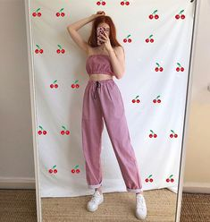 🍒matching clothes makes me happy🍒 Matching Outfits, Matching Clothes, 90s Fashion, Korean Fashion, Vintage Fashion, Fashion Outfits, Womens Fashion, Vintage Outfits, Daily Fashion