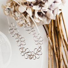 Sade (rain) silver jewelry