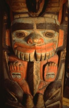 Totem Pole Carving - Popular among Northwest Indians