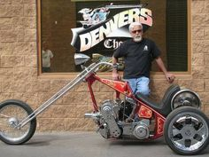 Harley trike with Eagle Motor  Corp blower
